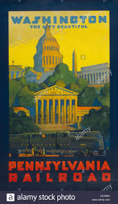 Washington how to travel for free images Pennsylvania railroad poster promoting travel to 39 washington the jpg