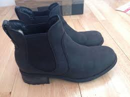 womens ugg boots gumtree genuine ugg australia bonham chelsea ankle boots in black