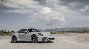 grey porsche 911 2018 porsche 911 gt3 review with price horsepower and photo gallery