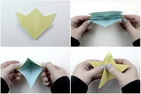 simple 5 point origami star instructions
