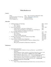 Graduate Student Resume Template Sample High Student Resume No Experience Resume Examples