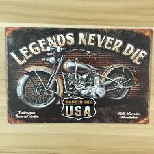2017 wholesale made in usa for motorcycle vintage home decor ua