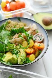 turkey grain nourish bowl recipe healthy thanksgiving leftovers