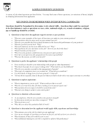 sample job interview questions and answers sample resume format