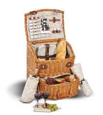 picnic basket set for 4 exeter 4 person picnic basket picnic plus