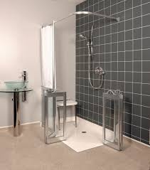 Handicapped Accessible Bathroom Designs by Disabled Bathroom Showers Walk In Showers For Elderly Wirral