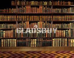 8 Ft Bookshelf Bookshelf Backdrop Etsy