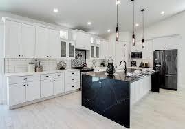 white kitchen cabinets with black quartz black quartz countertops design ideas designing idea