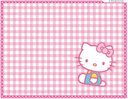 4 designer cute kitty background vector material