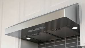how to install a range hood under cabinet broan elite rm6036ss 36 under cabinet range hood stainless intended