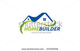 home builder logo design eco house logo download free vector art stock graphics images