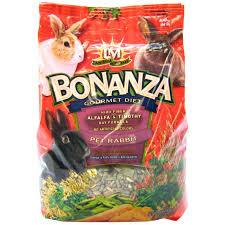rabbit food lm animal farms lm animal farms bonanza gourmet diet rabbit food