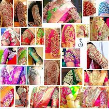 30 bridal blouse designs for silk sarees pattu sarees in 2018 2019