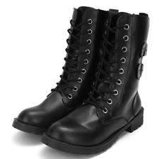 buy combat boots womens womens combat boots ebay