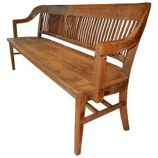 extra large americana house oak bench 1920s oak bench