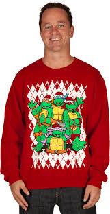 mutant turtles faux sweater fanboy