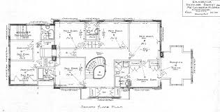 jones second floor plan drawing lawrence house house plans 76143