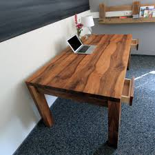 Schreibtisch 1 Meter Breit Schreibtisch Und Esstisch Holzgespür