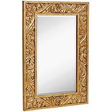 Gold Frame Bathroom Mirror Amazon Com Large Ornate Gold Baroque Frame Mirror Aged Luxury