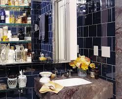 glass tile backsplash ideas bathroom comely design ideas using blue glass tile backsplash and