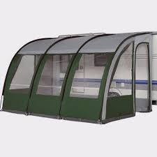 Motorhome Porch Awning Denver 390 Lightweight Caravan Motorhome Porch Awning Green New