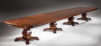 Mahogany Boardroom Table 3 Leaf 4 Pedestal Mahogany Boardroom Table