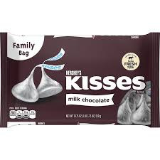 hershey s kisses chocolates gluten free solid milk chocolate