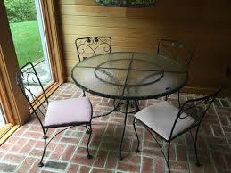 Wrought Iron Patio Furniture Vintage 19 Vintage Meadowcraft Wrought Iron Patio Furniture Plastic