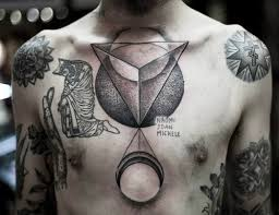 a fresh collection of cool chest tattoos inspirebee