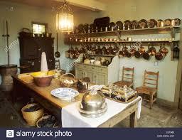 edinburgh the georgian house kitchen interior scotland uk