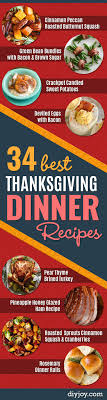 34 best thanksgiving dinner recipes simple thanksgiving and