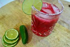 jalapeno margaritas hibiscus jalapeño margarita fancy made easy