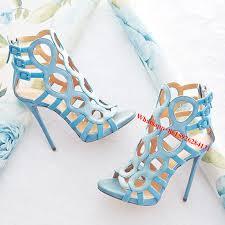 designer stiletto heels aliexpress buy fashion circle cut out suede designer sandals