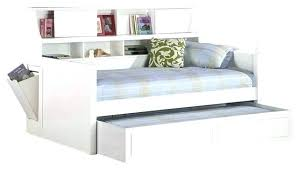 White Daybed With Storage White Daybed With Storage Daybed With Bookcase Medium Size Of