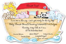 noah ark baby shower noah ark baby shower invitations myexpression 18604