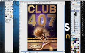 gimp design how to make a professional flyer in gimp