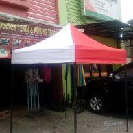 Tenda Lipat Ukuran 3x3 jual kain atap tenda lipat ukuran 3x3 meter di lapak conggi conggi