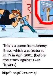 Johnny Bravo Meme - com this is a scene from johnny bravo which was featured in tv in