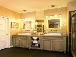 Bathroom Mirror Light Fixtures Vanities Bathroom Wall Mirror Lights Height Of Vanity Side