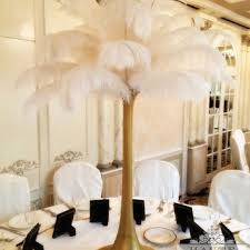 great gatsby centerpieces shop feather centerpieces on wanelo
