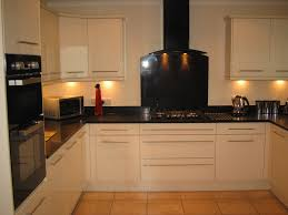 ideas for kitchen worktops black and kitchen ideas with white cabinet and floor