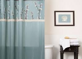 Brown Bathroom Colors - turquoise and brown bathroom curtains handowels ideas decorating
