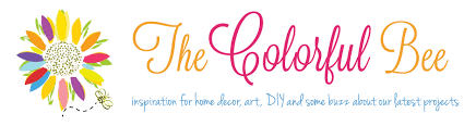 the colorful bee inspiration for home decor art diy u0026 some