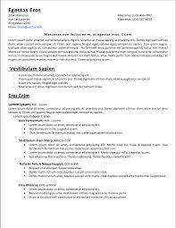 Adjacency Resume Quick Resume Template