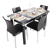 4 Seater Dining Table And Chairs 4 Seater Dining Set Four Seater Dining Table And Chairs