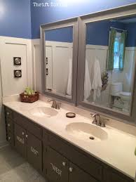 Pics Of Bathrooms Makeovers - before u0026 after kids u0027 bathroom makeover reveal thrift diving blog