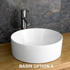wide basin bathroom sink minimal style cube basin cabinet round square basin set