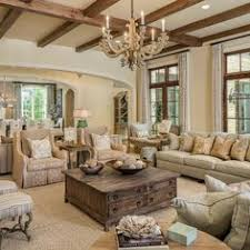 Farmhouse Farmhouse Family Room Farmhouse Family Room With Beams - Decor ideas for family room