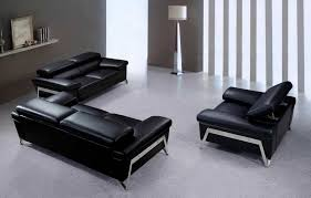 Black Leather Sofa And Chair Checking And Caring Black Leather Sofa The Kienandsweet Furnitures
