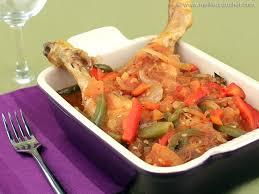 cuisine poulet basquaise poulet basquaise notre recette illustrée meilleurduchef com